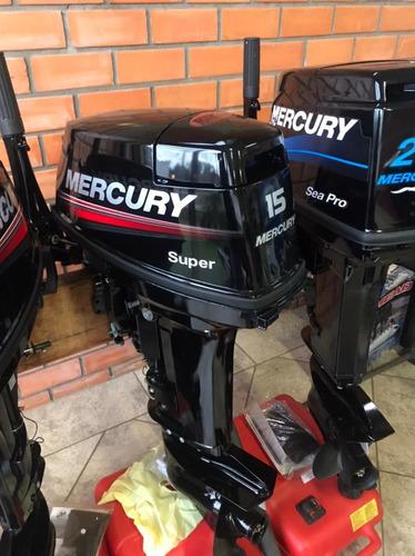 Motor Popa 15 Hp Super Japão - Mercury