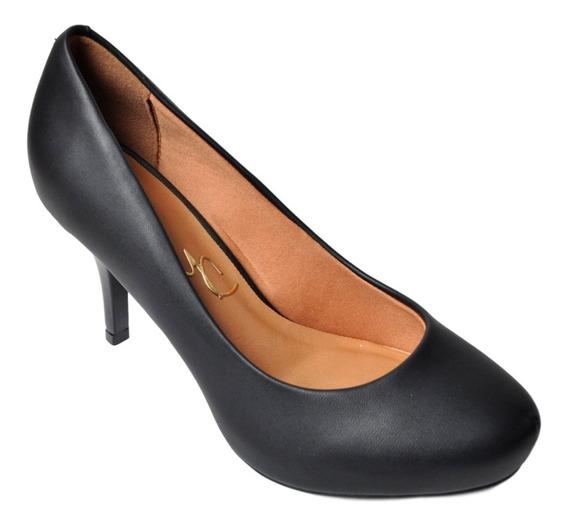 Zapato Clásico Fiesta/ Oficina/trabajo Mujer Massimo Chiesa 16594 Taco Bajo Fino