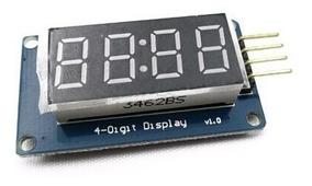 Display 7 Segmentos Clock 4 Digitos - Tm1637