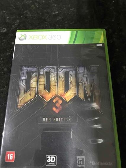 Jogo Xbox 360 Doom 3 Bfg Edition Original Mídia Física