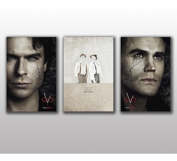 Placas Decorativas The Vampire Diaries Decoração Para Casa 2