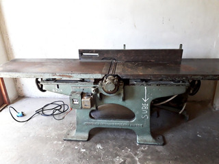 Garlopa - Maquina De Carpinteria