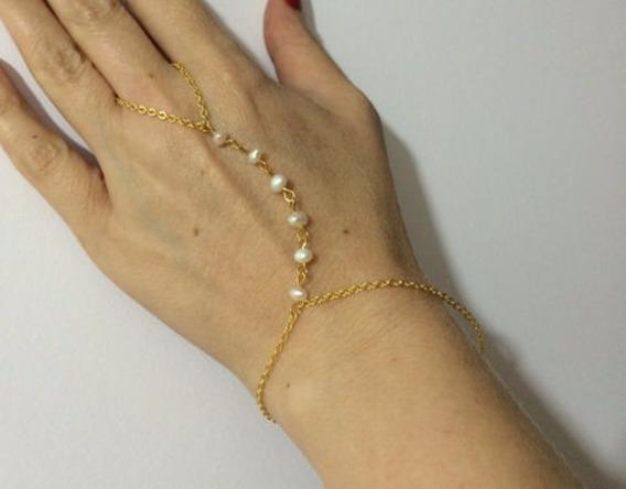 Pulseira De Mão, Arm Chain