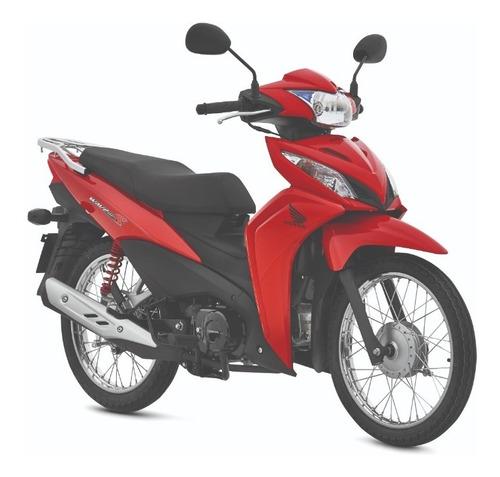 Honda Wave 110 S 0km Entrega Inmediata! Ahora 12/18 Rojo