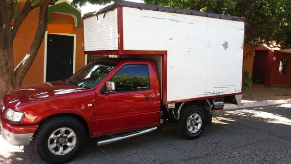 Chevrolet Luv Roja Con Furgón Modelo 1998
