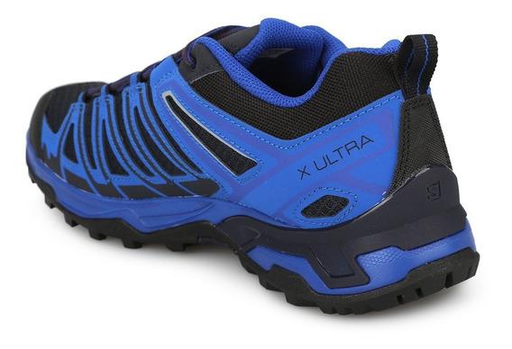 Zapatilla Azul Salomon X Ultra 3 Prime