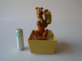 Scooby Doo Hamburguesa Figura Cartoon Network 1999