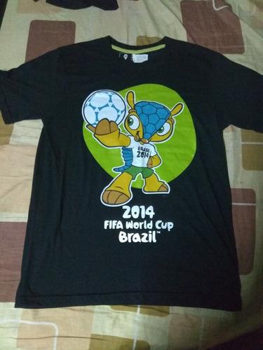 Mundial Brasil 2014 Original Fifa Camiseta Futbol Selección
