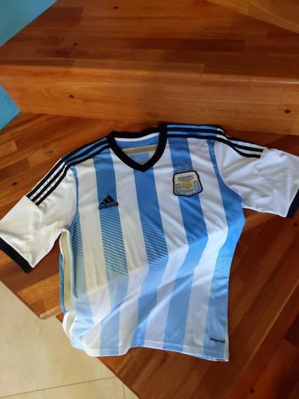 Camiseta Argentina Mundial 2014 Messi 10