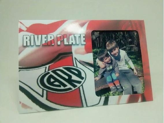 River - Boca - Fútbol - Portaretrato De Cartulina - Pack X10