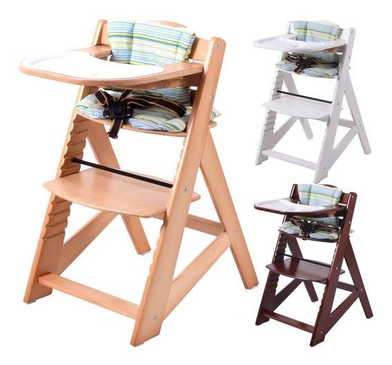 Silla Alta Comer Bebe Alpine Chair De Madera En Cuotas