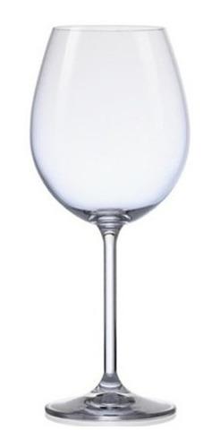 Imagen 1 de 4 de Set X 2 Copón Vino Degustación Cristal Bohemia Máxima 580ml
