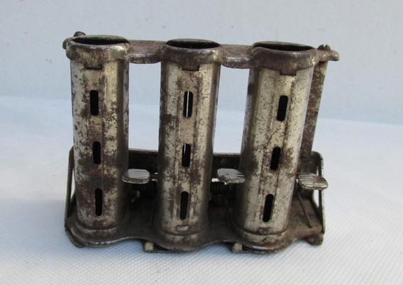 Antiguo Monedero De 3 Columnas, Funciona, Gentile Hnos #l