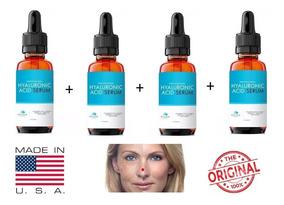 Acido Hialurônico Vitamina C Serum Anti-rugas Clareador 4un