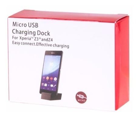 Dock Cargador Xperia Z3+, Z4, Z5, Z5 Premium, C5 Ultra