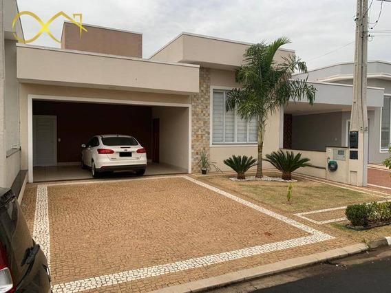 Casa Com 3 Dormitórios À Venda, 176 M² Por R$ 765.000 - Condomínio Terras Do Fontanário - Paulínia/sp - Ca1954