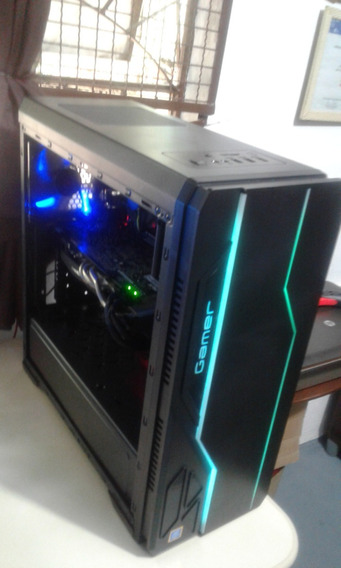Pc Gamer 7 Ger, G4560 8gb Ddr 4 Com R9 270x
