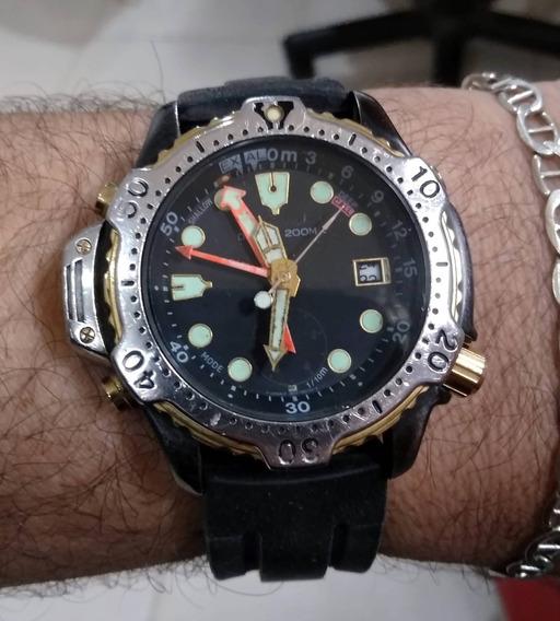 Raríssimo Relógio Citizen Aqualand Promaster 6 Ponteiros