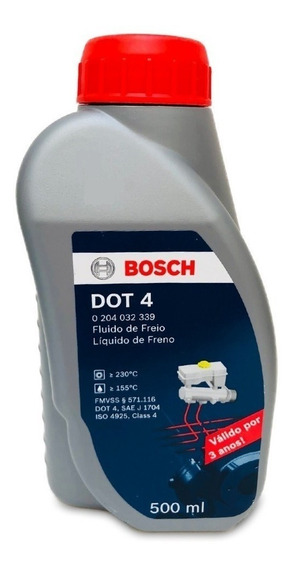 Fluido Freio Dot 4 500ml Original Bosch
