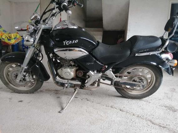 Italika Tc250 Negra