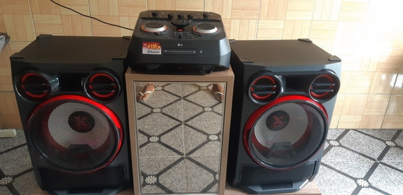 Som Lg Mini System Xboom 4100w Multi Bluetooth