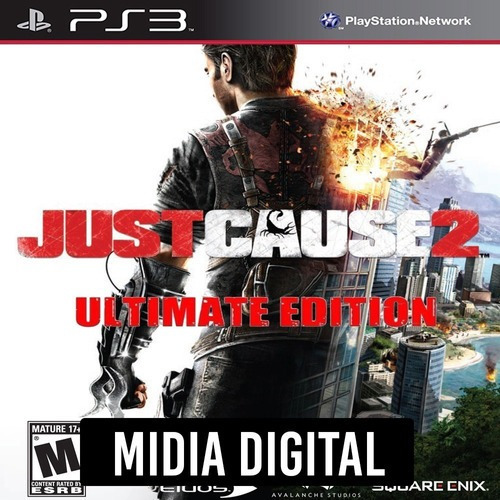 Ps3 Psn* - Just Cause 2 Ultimate Edition