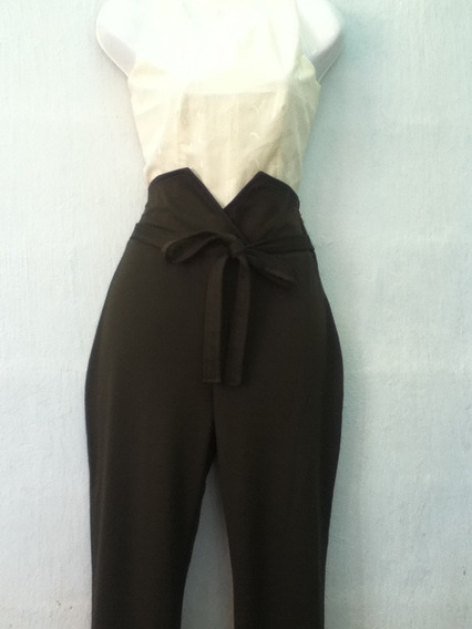 Pantalon Largo Casual De Dama, Talle Alto