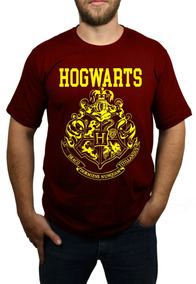 Camiseta Hogwarts - Harry Potter - Vinho