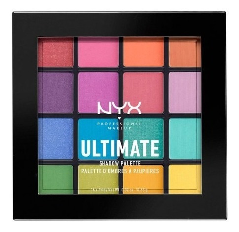Paleta De Sombras Ultimate Nyx 100% Original
