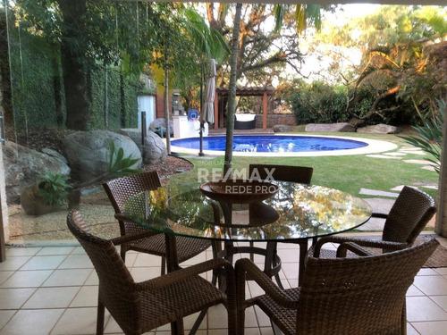 Casa Residencial À Venda Com 5 Quartos, No Condomínio Village Visconde De Itamaracá , Valinhos /sp - Ca4240