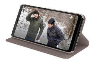 Funda Flip Cover Entertainment Nokia 5.1 Crema