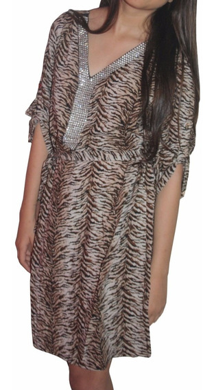 V1251 Vestido Animal Print, It Girls Colombia