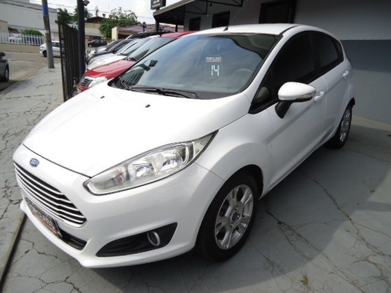 New Fiesta Power Shift 1.6 Flex 130cv 4p 2014 Branco