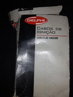 Juego De Cables De Bujia Fiat Palio 1.8 Corsa Delphi
