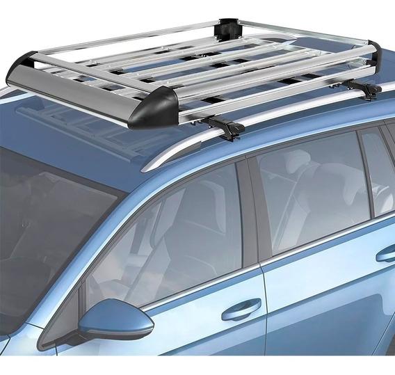 Parrilla Aluminio Porta Equipajes C Barras Laterales Tracker