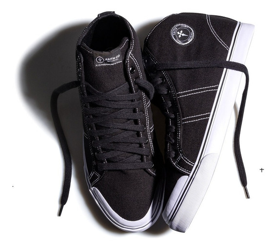 Tênis Faith Co. Mosh High Preto