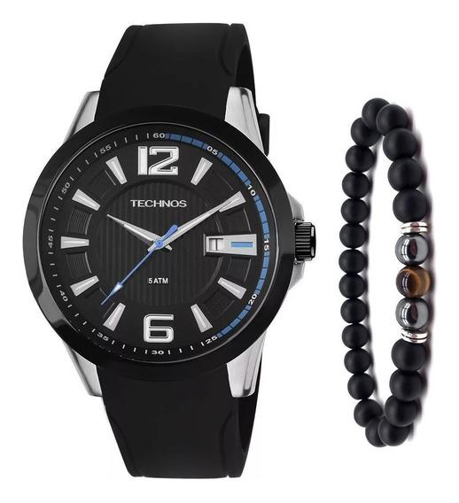 Relógio Masculino Technos Analógico 2115knw/8p + Pulseira