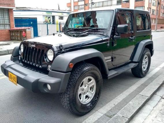 Jeep Wrangler Sport 3.600 Modelo 2016 Negro 3 Puertas