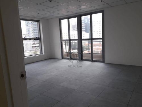 Sala Para Alugar, 35 M² Por R$ 1.595/mês - Vila Cordeiro - São Paulo/sp - Sa0407