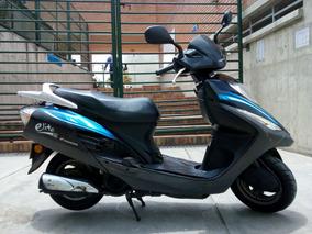 Moto Honda Elite125cc 2013 Barata $1.550.000 Bogota Solo Car