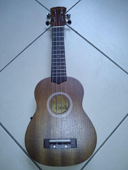 Ukulele Ukelele Amplificado Eq Cocoon Soprano