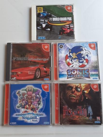 Lote De Jogos Dreamcast Frete Gratis 12x Sem Juros