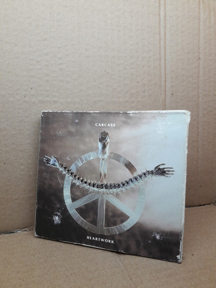Cd Doble + Dvd Carcass Heartwork Limited Edition Importado