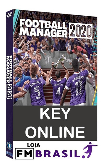 Football Manager 2020 Pc Steam Online Key Portugues