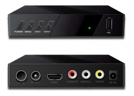 Conversor Digital Full Hd Prodt-1250pro Eletronic