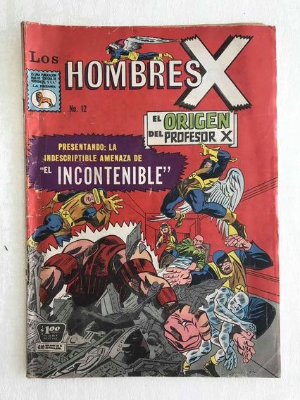Cómic La Prensa Hombres X # 12 1966 Hombres X Vintage Marvel