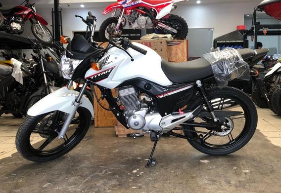 Honda Cg 150 Titan Modelo 2020 Nuevo Stock En Marellisports