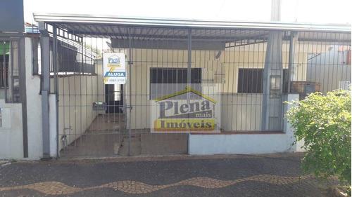Casa Com 2 Dormitórios Para Alugar, 70 M² - Vila São Francisco - Hortolândia/sp - Ca0321