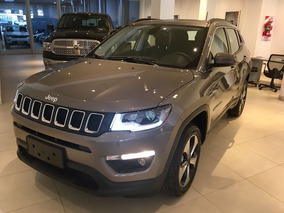 Jeep Compass 2.4 Longitude Entrega Feb Blanco,negro, Plata