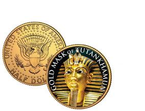 Moeda De Ouro De Tutankhamon 24k